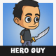 Hero Guy Character - GraphicRiver Item for Sale