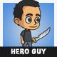 Hero Guy Character