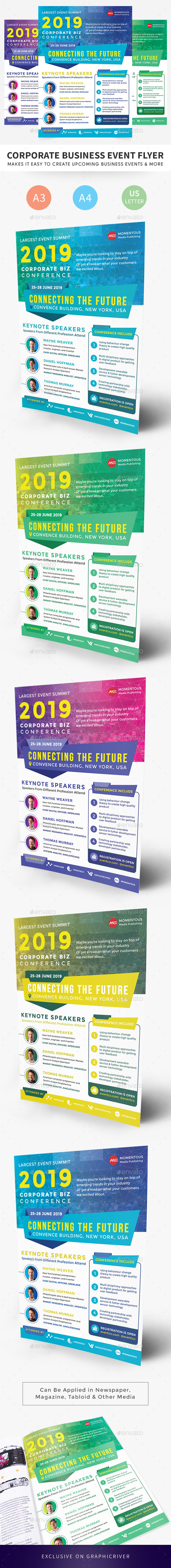 Corporate Business Event Flyer - Corporate Flyers