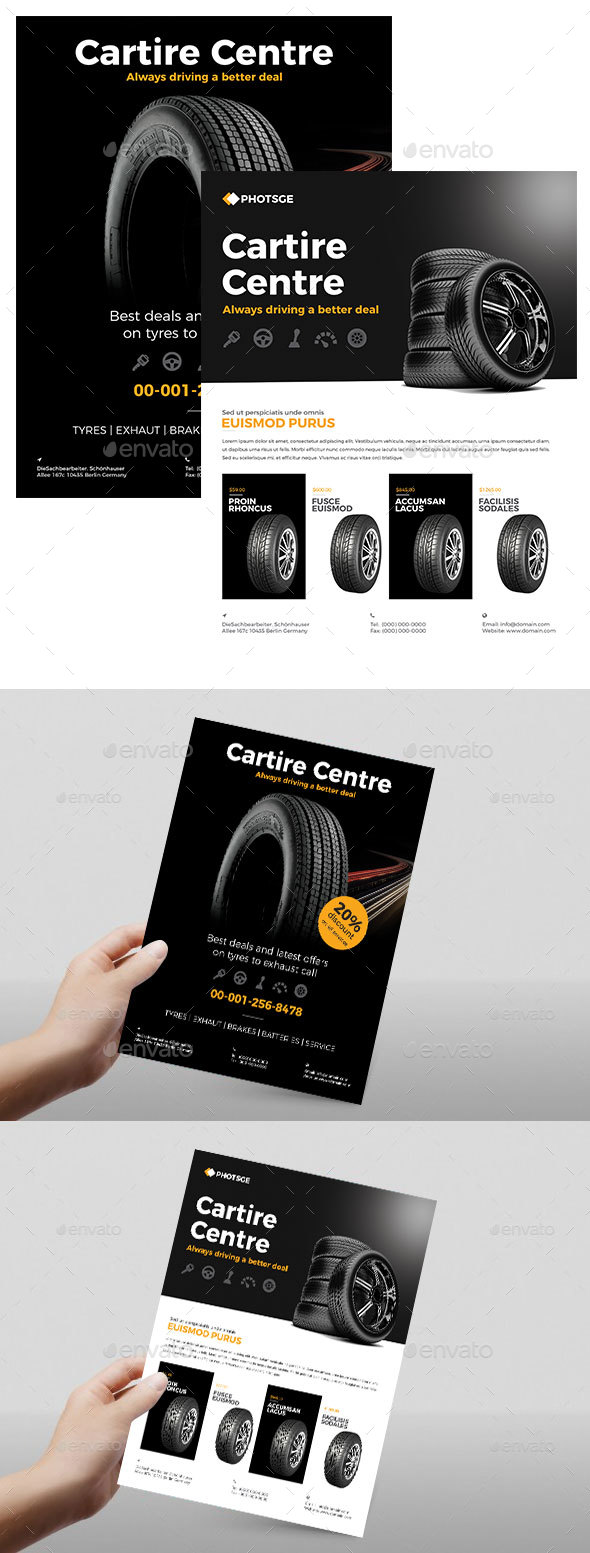 Tire Flyer - Commerce Flyers
