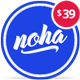 Noha - A modern Agency WordPress Theme for Creatives
