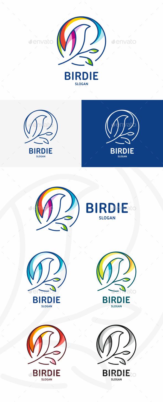 GraphicRiver Bird Logo 20437308