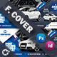 Rent A Car Cover Templates - GraphicRiver Item for Sale