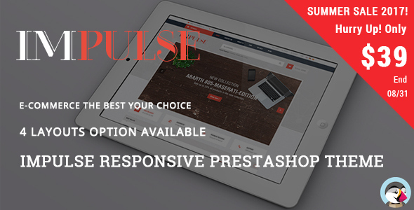 Impulse - Digital Responsive Prestashop Theme