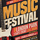 Music Festival Flyer Template V17 - GraphicRiver Item for Sale