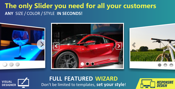 Custom SLIDER + Wizard - CodeCanyon Item for Sale