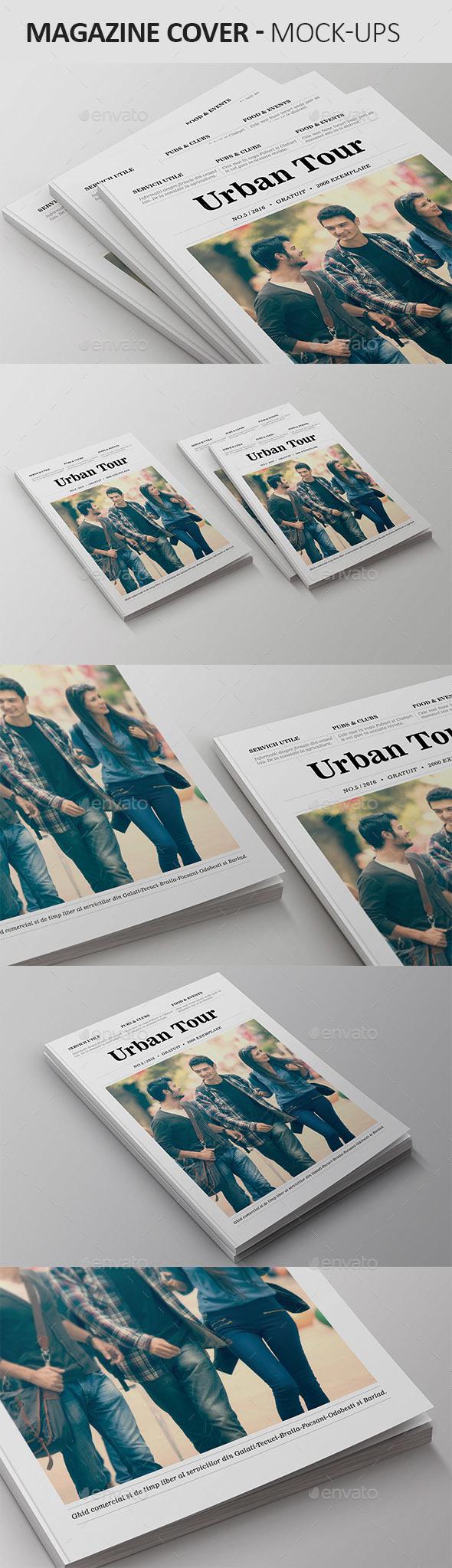 Magazine Cover Mock-Ups