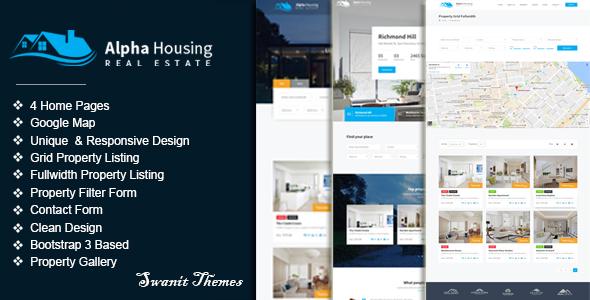 Alpha Housing - Real Estate Multipurpose Template