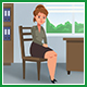 Female Patient On Reception At The Male Doctor - VideoHive Item for Sale