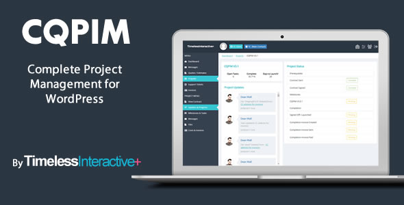 CQPIM WordPress Project Management Plugin - CodeCanyon Item for Sale