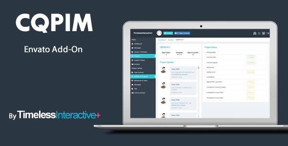 CQPIM Project Management - Envato Add-On - CodeCanyon Item for Sale