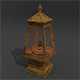 Ceramic Lamp (High poly) - 3DOcean Item for Sale