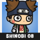 Fat Shinobi Guy - GraphicRiver Item for Sale