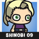 Blonde Shinobi Girl - GraphicRiver Item for Sale