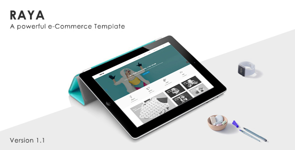 Raya - Simple & Clean eCommerce Template