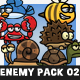 Cartoon Enemy Pack 02 - GraphicRiver Item for Sale