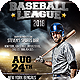 Baseball League 2018 Flyer