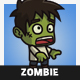 Cartoon Villager Zombie - GraphicRiver Item for Sale