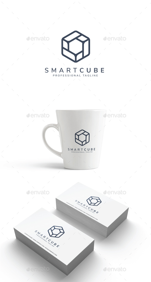 GraphicRiver Smart Cube Logo 20438345
