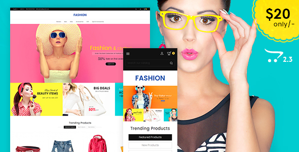 BeFASHION - Opencart 3 Multi-Purpose Responsive Theme
