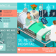 Vector Hospital Trifold Info Brochure Medical Clinic Template - GraphicRiver Item for Sale
