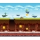 Electronic Game Underground Floor Cartoon Screen