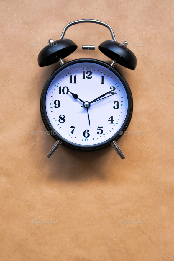 Vintage alarm clock - Stock Photo - Images