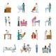Maternity Hospital Nursery Set - GraphicRiver Item for Sale