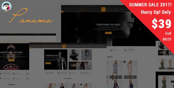 Panama - Fashion Responsive Prestashop Theme