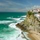 Azenhas Do Mar, Sintra, Portugal Coastal Town