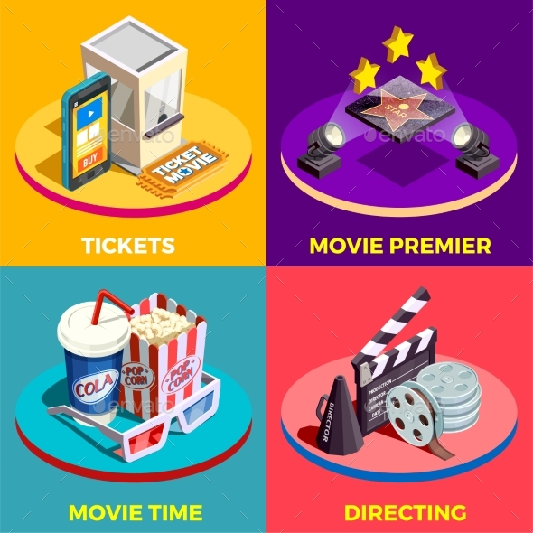 GraphicRiver Movie Time Design Concept 20439072