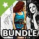 3 Photoshop Actions Bundle - Vol.3