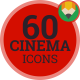 Cinema Flat Icons