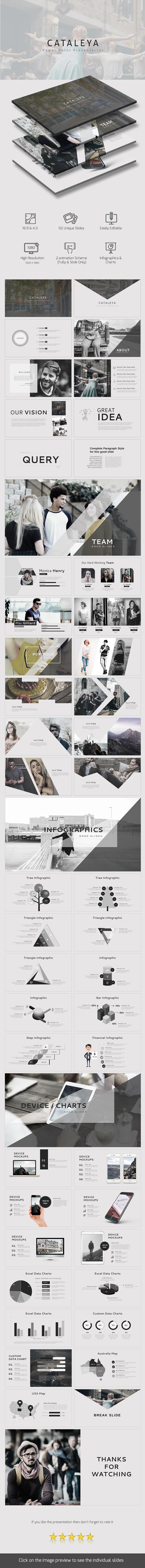 Cataleya PowerPoint Presentation - Business PowerPoint Templates