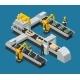 Car Electronics Autoelectronics Isometric Factory
