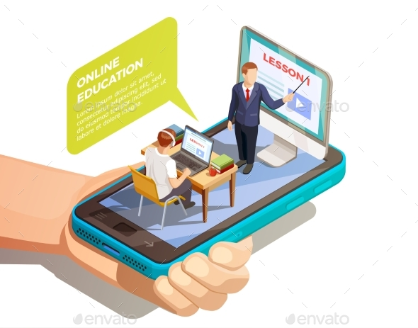 Online Learning Isometric Concept - Web Technology