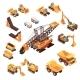 Extraction Equipment Isometric Set