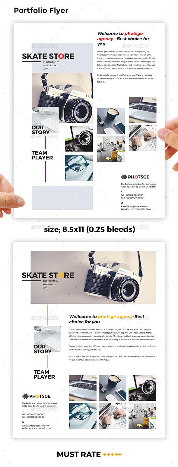 Portfolio Flyer - Corporate Flyers
