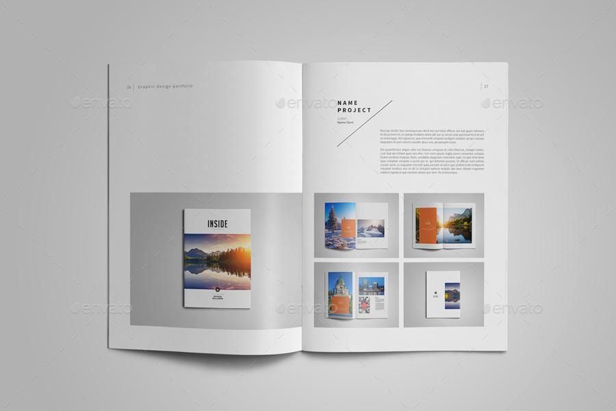 graphic design portfolio template by adekfotografia graphicriver