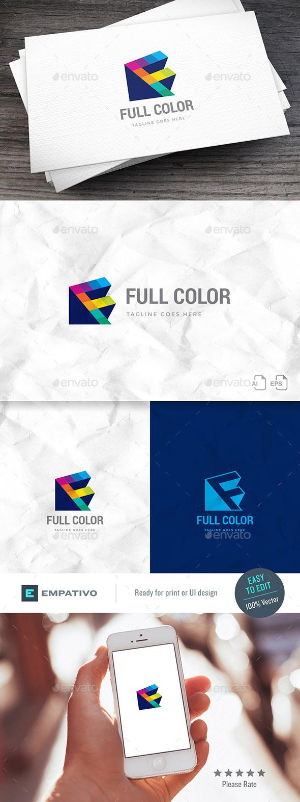 GraphicRiver Full Color Logo Template 20439796