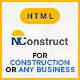 NConstruct - Business Template for Construction, Building, Renovation Company