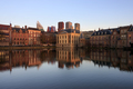 Skyline of the Hague with reflection in the lake - PhotoDune Item for Sale