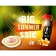 Hawaiian Summer Sale Poster