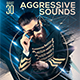 Aggressive Sounds Flyer/Poster Template - GraphicRiver Item for Sale