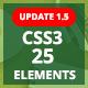 ePack -  25 CSS3 Ultimate Element Packages - CodeCanyon Item for Sale