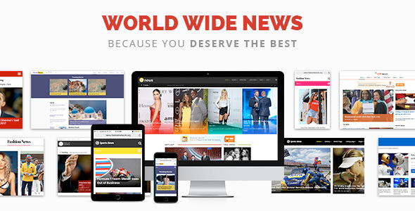 ThemeForest News Magazine News Newspaper 19583211