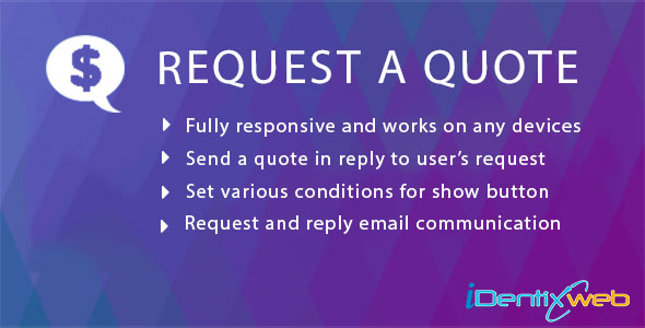 Request A Quote - CodeCanyon Item for Sale