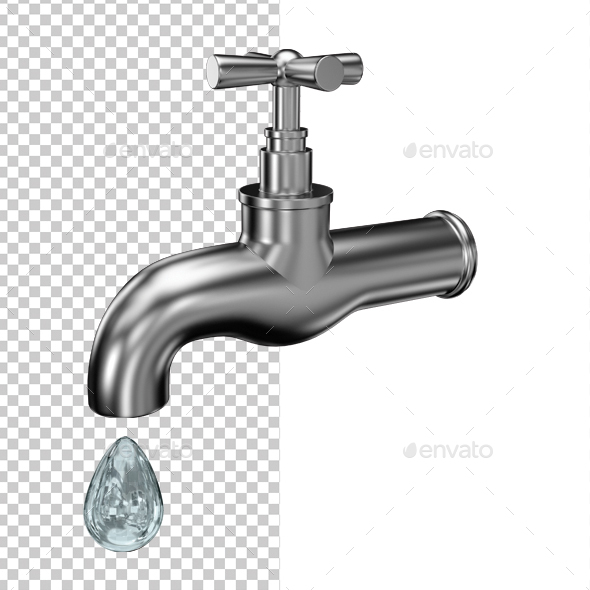 GraphicRiver Tap & Water Drop 20441276
