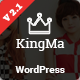 KingMa | Creative Business Onepage & MultiPage Theme - ThemeForest Item for Sale