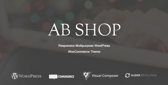 ThemeForest AbShop Responsive Multipurpose WooCommerce WordPress Theme 20166888